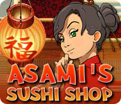 Asami's Sushi Shop Game Featured Image