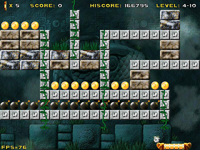 Aztec Bricks - Ancient bricks need breaking.