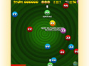 in-game screenshot : Ballies (og) - Match the similar colors in Ballies!