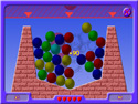 in-game screenshot : Ballz (og) - Clear all the Ballz to move on!