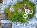 in-game screenshot : Be a King: Golden Empire (pc) - Defend your kingdom from raiders!