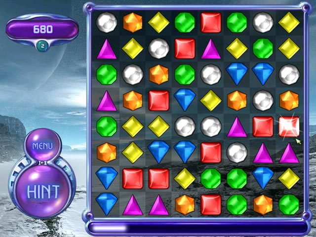 لعبة  Bejeweled 2 Deluxe  Screen1