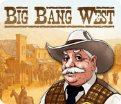 Tame the American Wild West by gathering essential resources to enhance and develop your town in Big Bang West!