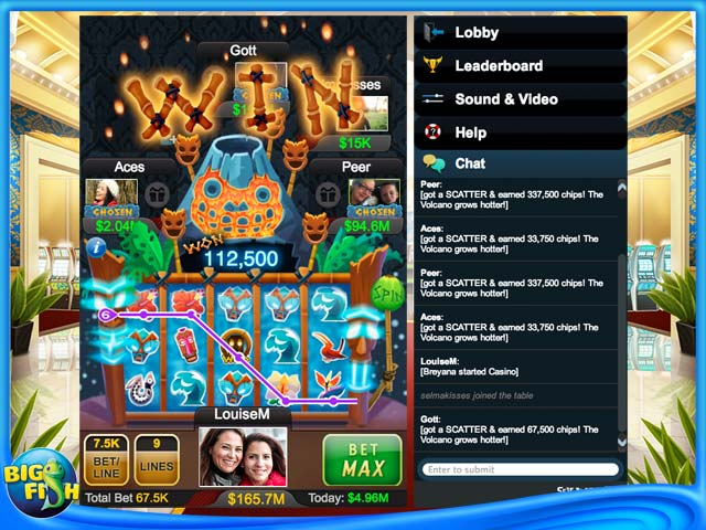 big game casinos free