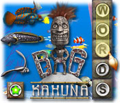 Big Kahuna Words Feature Game