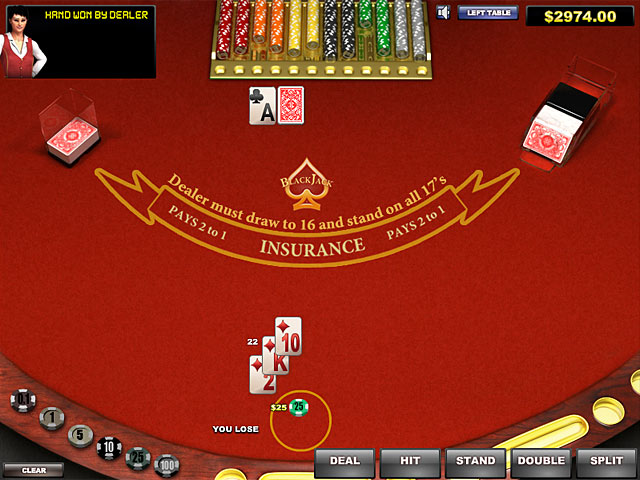 blackjack pc game