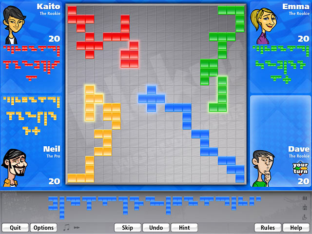 Blokus World Tour Screen Shot