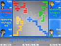 Screenshot: Blokus World Tour Game