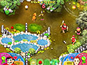 in-game screenshot : Bloom Busters (pc) - Squash monsters while managing the farm.
