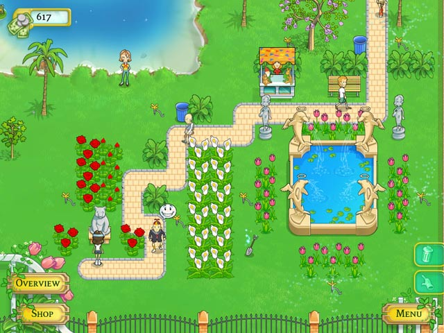 Blooming Daisies - Create your own gorgeous park!