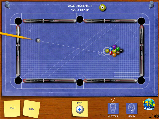 Image Blueprint Billiards