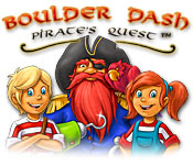 Boulder Dash-Pirate's Quest Game Featured Image