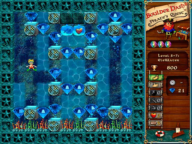 تحميل لعبة Boulder Dash Pirates Quest