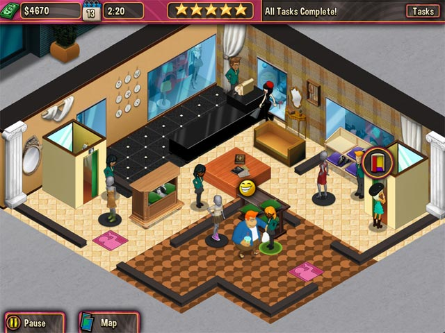 Boutique Boulevard Game Play