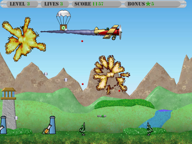 Brave Plane - Defend your homeland from invaders!