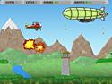 in-game screenshot : Brave Plane (og) - Defend your homeland from invaders!