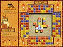 in-game screenshot : Brickshooter Egypt (og) - Unravel mysteries of ancient hieroglyphs
