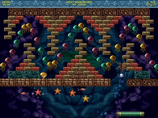 Gra Bricks of Atlantis Gra Bezpłatne