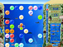 in-game screenshot : Bubble Bay (pc) - Help the octopus pop beautiful bubbles.