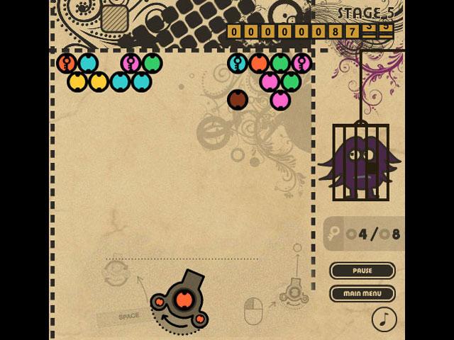 Bubble creature zuma online for Bubble fish games