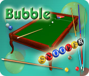 Bubble Snooker Game Featured Image