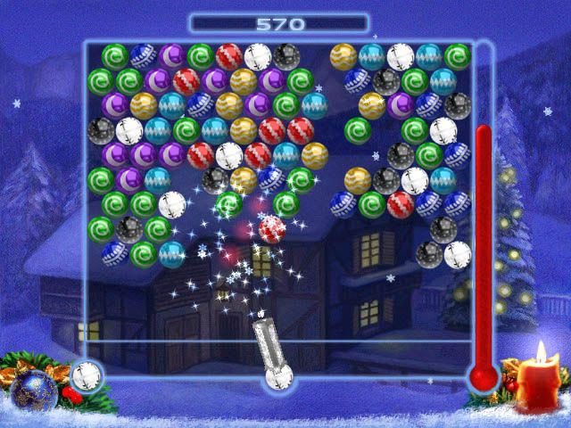 Bubble xmas mobile app for iphone android for Big fish games for android