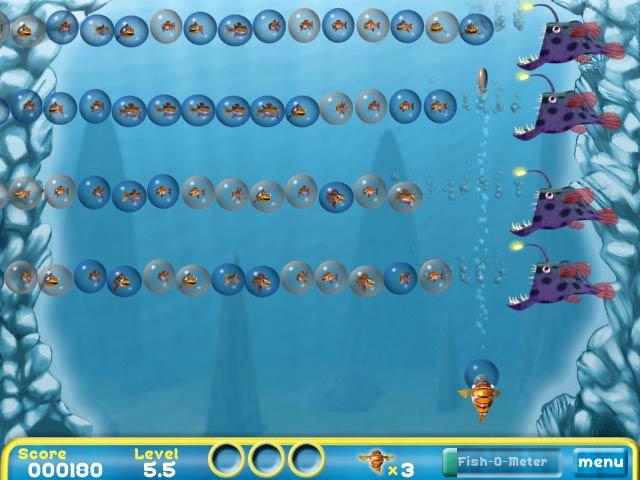 Bubblefish Bob - Dive into deep-sea fun.