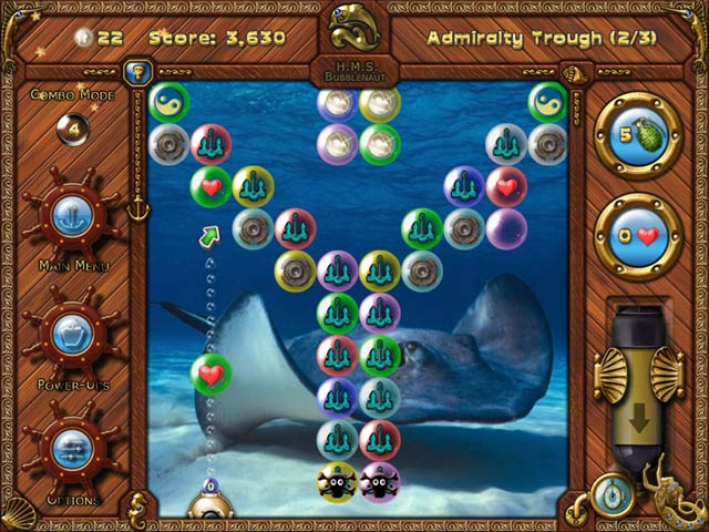 Gra Bubblenauts: The Hunt for Jolly Roger's Treasure Gra Bezpłatne