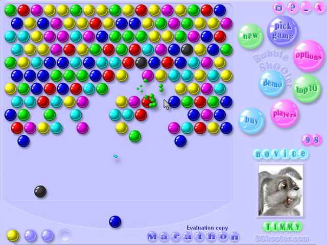 download bubble shooter game