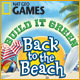 Build It Green: Back to the Beach - Free game download