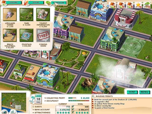 Gra Build It! Miami Beach Resort Gra Bezpłatne