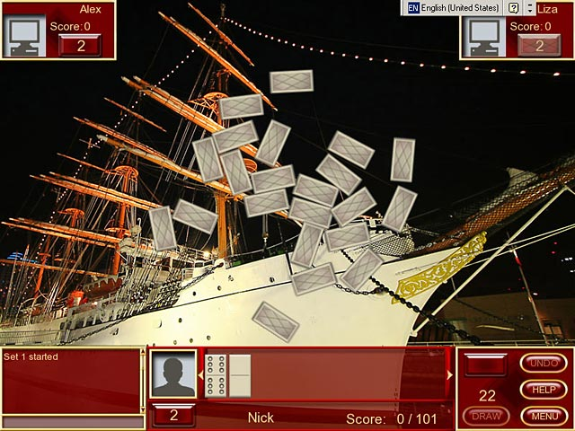 Buku Dominoes - Get a taste of the classic strategy game.