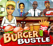 Burger Bustle Game Featured Image