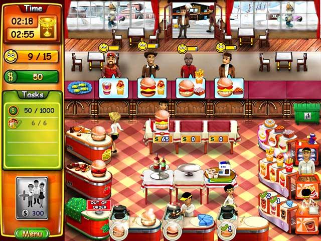 لعبة مطعم البرجر الرائعة Burger
