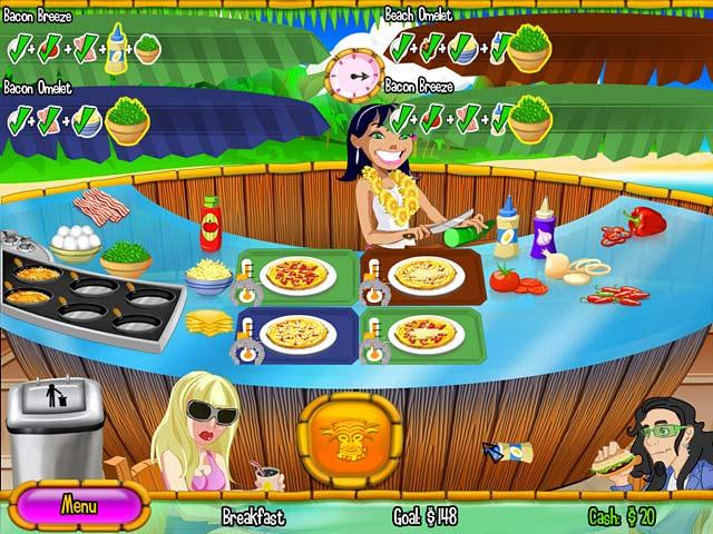 Gra Burger Island 2: The Missing Ingredients Gra Bezpłatne