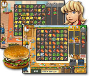 Burger Rush Game