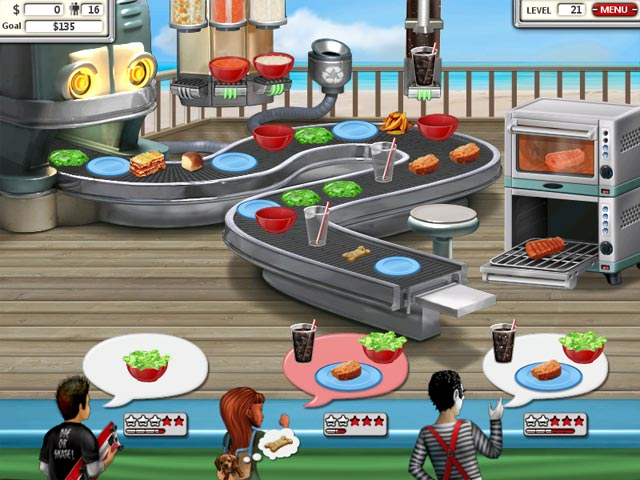 Burger shop 2 game download and play free version for Big fish cooking games