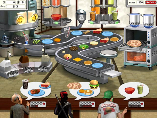 play burger shop 2 online