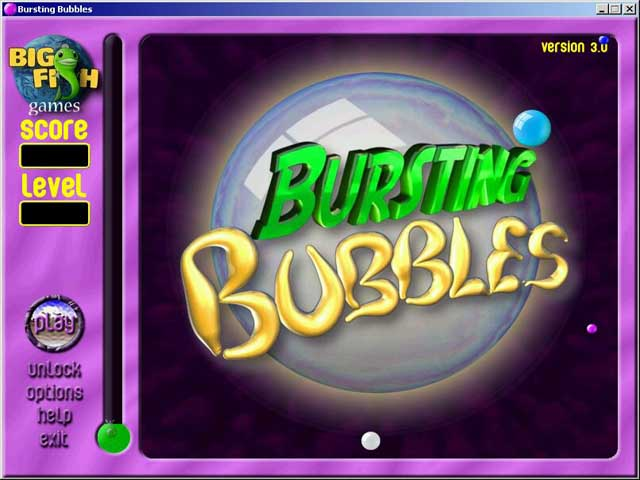 Bursting Bubbles review