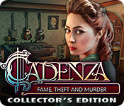 Buy PC games online, download : Cadenza: Fame, Theft and Murder Collector's Edition