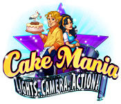 Cake Mania: Lights, Camera, Action! Game Featured Image