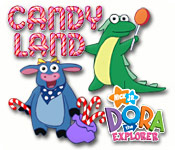 Candy Land - Dora the Explorer Edition Feature Game