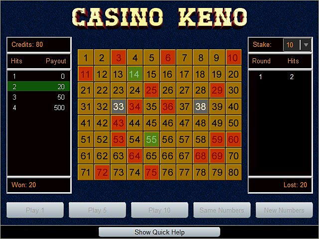 Best casinos keno game make an online casino