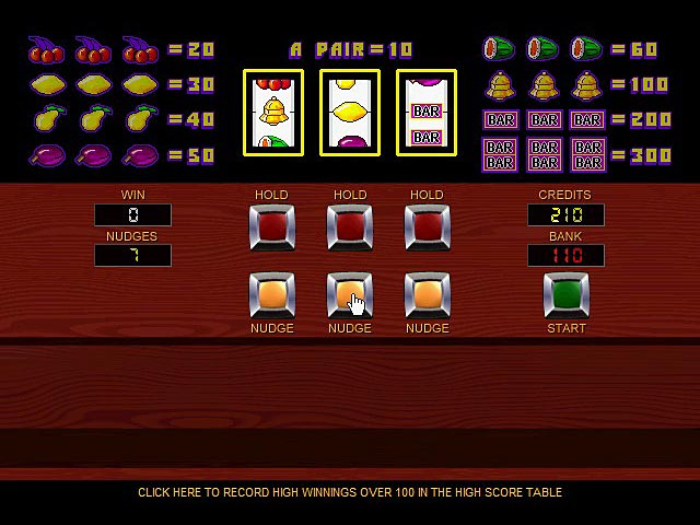 online slot machine game payment methods