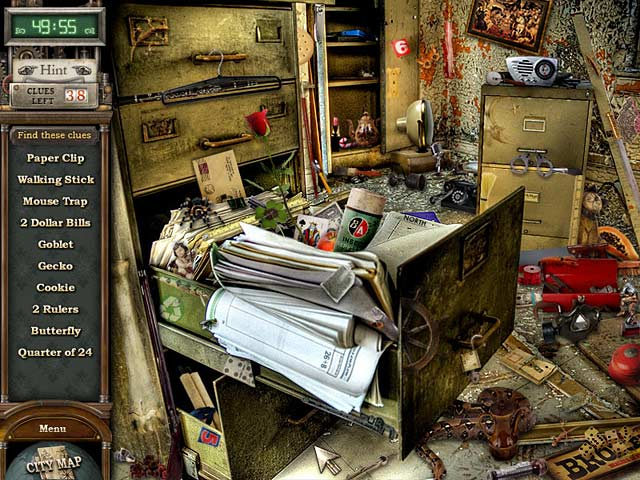 Gra Cate West: The Vanishing Files Gra Bezpłatne