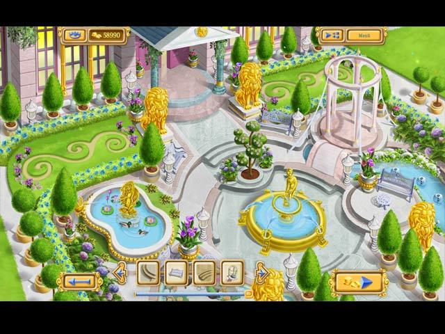 Chateau Garden Mac Game - Create a romantic chateau garden