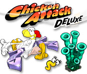 Chicken Attack Deluxe - Featured Game!