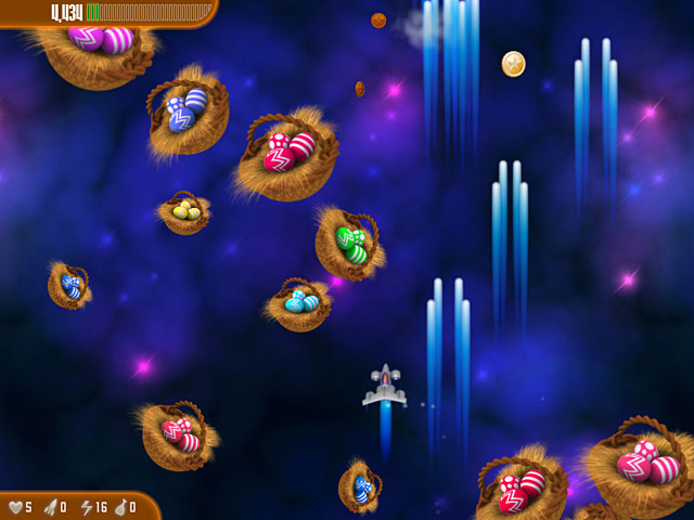 Chicken Invaders 3: Revenge of the Yolk Easter Edition Screenshot http://games.bigfishgames.com/en_chicken-invaders-3-revenge-of-the-yolk-easter/screen1.jpg