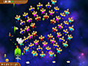 in-game screenshot : Chicken Invaders 3: Revenge of the Yolk Easter Edition (pc) - Save Easter from the chicken threat!