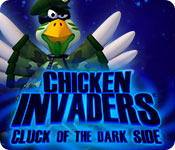 Chicken Invaders 5: Cluck of the Dark Side Game Featured Image